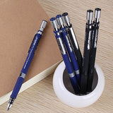 1Pc 2.0mm Black Lead Holder Drafting Drawing Study Stationery Mechanical Pencil