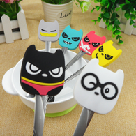 CRAZY CAT CREW STAINLESS SPOONS