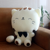LUCKY CAT PLUSH PILLOW