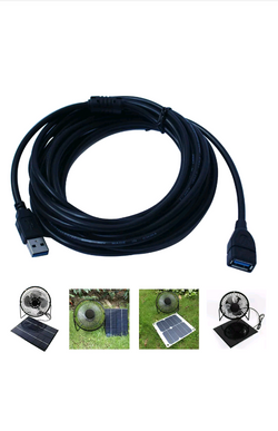 USB Extension Cable para USB Solar Power Fan - PR