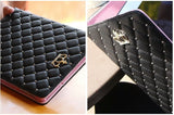 For ipad mini 4 Crown Diamond Leather Case Cover