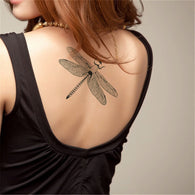 Dragonfly Tattoo Sticker Removable Body Art Painting Body