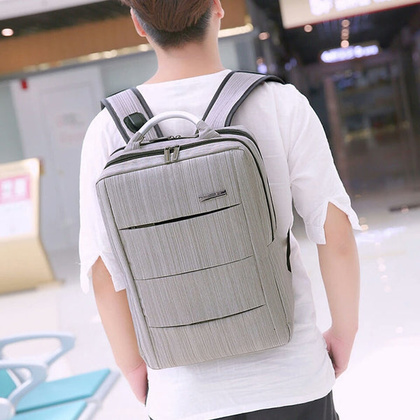 Laptop Backpack Anti-Theft Male Mochila