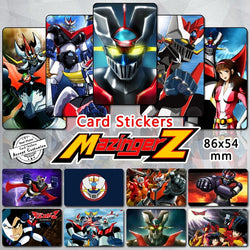 35pcs Mazinger Series Card Stickers Classic