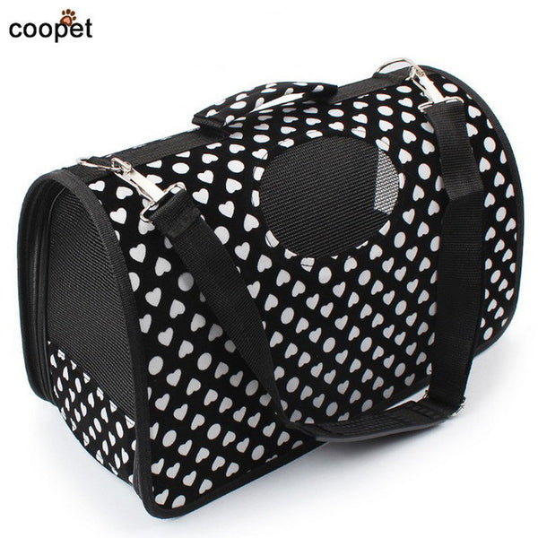 COOPET Designer Dog Bag Pet Puppy Carrier Portable Travel Cat Bag Trasportino per cani For Small Dogs Pet Supplies Shop