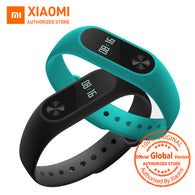 Global Version Xiaomi Mi Band 2 miband 2 Smartband OLED display touchpad heart rate monitor Bluetooth 4.0 fitness tracker - AmazingSolution