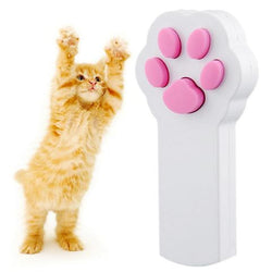 FUNNY CAT PAWS INTERACTIVE BEAM LASER POINTER