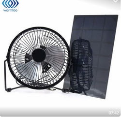 USB Solar Power Fan