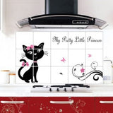Kitchen Wall Stickers Foil oil sticker