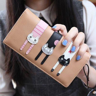 CUTE KITTEN WALLETS