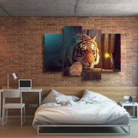 GIANT TIGER 4 PIECE PANEL