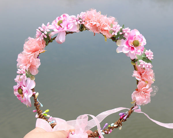 Flower halo Bridal Floral Crown