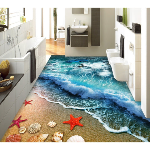 BEACH 3D FLOOR STICKER