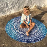 Yoga Blanket Mandala Tapestry Summer Beach Towel