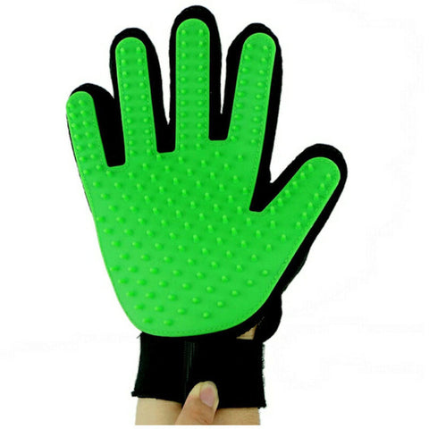 Pet Brush Glove For Cats And Dogs