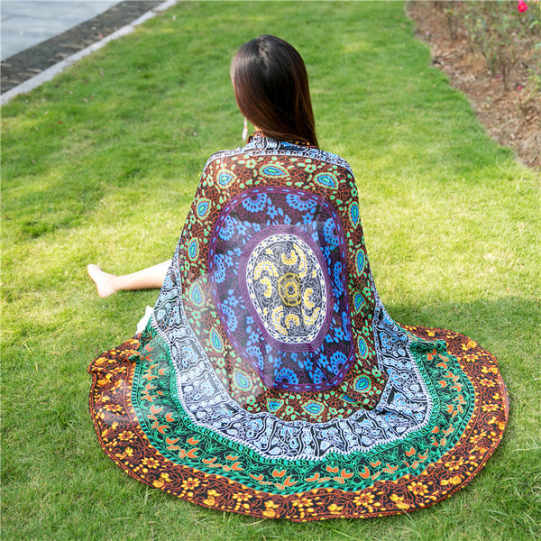 ANDALA TAPESTRY WRAP BEACH MAT