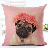 LIMITED EDITION PUG CUSHION COVERS