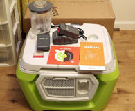 Coolest Cooler, Margarita Color, Extra Battery, USB Charger, Blender, Speaker