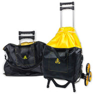 UpCart Bag Bundle All-Terrain Stair Climbing Folding Cart Moves up to 100-pounds