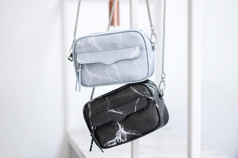 Natural Marble Minibag - Grey - Bags - Blue Edges Co. | Nordic Contemporary Marble Fashion 北歐風後現代主義概念店| Minimal Uniqueness | Reinvent your Collection