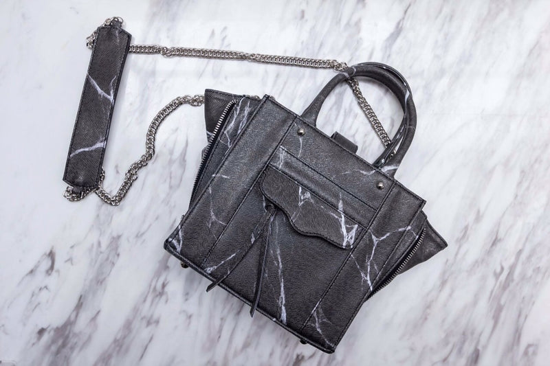 Natural Marble Tote Bag - Grey - Bags - Blue Edges Co. | Nordic Contemporary Marble Fashion 北歐風後現代主義概念店| Minimal Uniqueness | Reinvent your Collection
