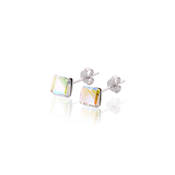 Love Sparks Swarovski Sterling Silver Earring - Accessories - Blue Edges Co. | Nordic Contemporary Marble Fashion 北歐風後現代主義概念店| Minimal Uniqueness | Reinvent your Collection