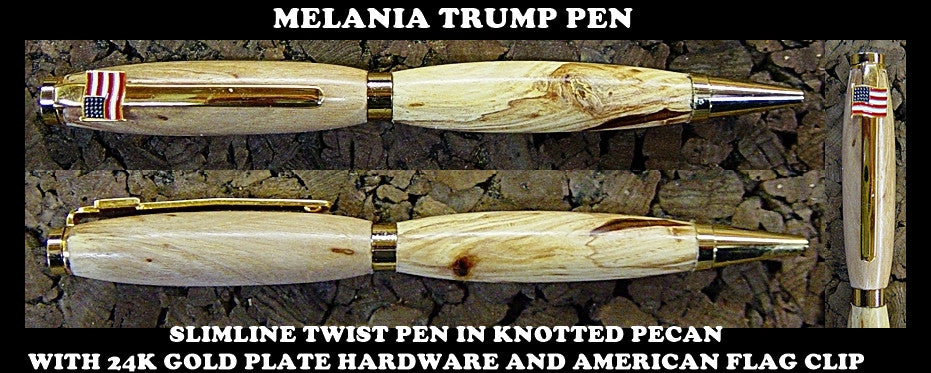 HAND CRAFTED GIFT PEN FOR FIRST LADY MELANIA TRUMP.