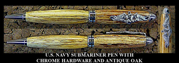 U.S. NAVY SUBMARINER PEN, NAVY, SUBMARINER, US NAVY, SUBMARINE WARFARE PEN, SUBMARINE WARFARE, SUBMARINE PEN