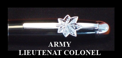 ARMY LIEUTENANT COLONEL PEN