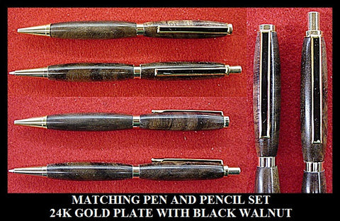 GRADUATION MATCHING PEN AND MECHANICAL PENCIL SETS