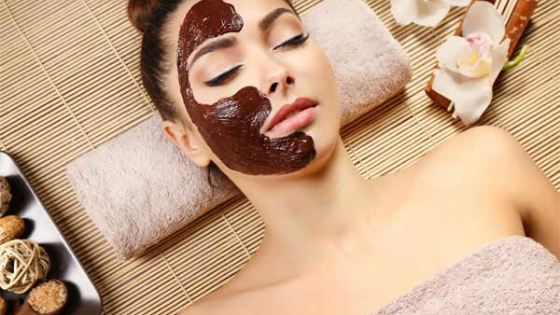 Benefits of a chocolate face mask