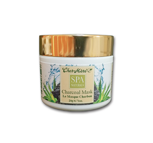 Cher-Mere Spa Naturals Charcoal Mask
