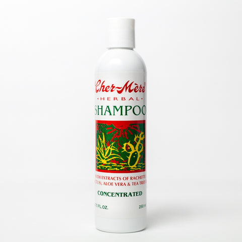 Herbal Shampoo with Rachette and Aloe - Cher-Mere