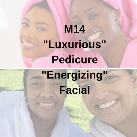 "M14 - ""Luxurious"" Pedicure ""Energizing"" Facial - Cher-Mere"