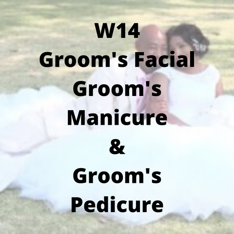 W14 - Groom's Facial, Groom's Manicure & Groom's Pedicure - Cher-Mere
