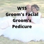 W15 - Groom's Facial, Groom's Pedicure - Cher-Mere