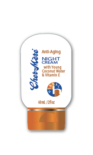 Anti-Aging Night Cream with Young Coconut Water and Vitamin E
