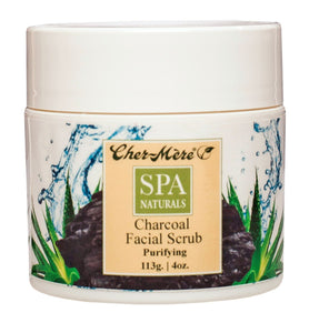 Spa Naturals Charcoal Face Scrub (113g) - Cher-Mere