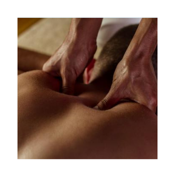 Deep Tissue Massage with Steam Therapy