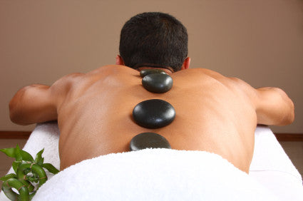 Hot Stone Back and Neck Massage - Cher-Mere