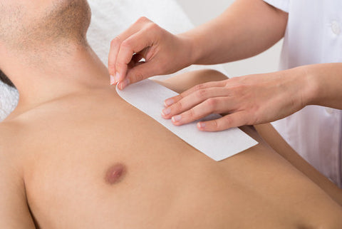 Men's Back or Chest Wax - Cher-Mere
