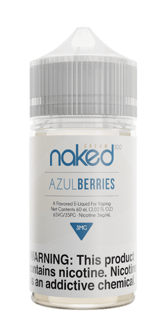 Naked Cream - Azul Berries 60ML