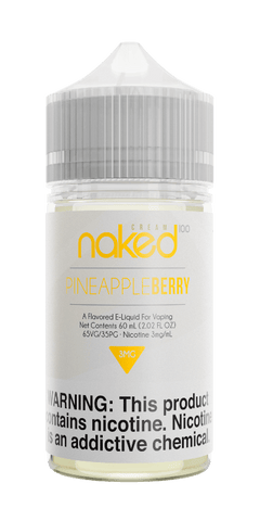Naked Cream - Pineapple Berry (Berry Lush) 60ML