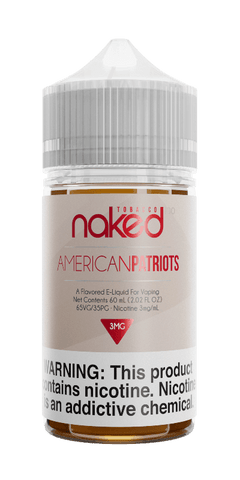 Naked Tobacco - American Patriots 60ML