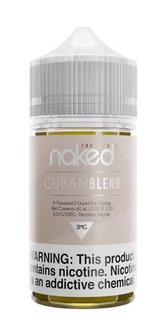Naked Tobacco - Cuban Blend 60ML