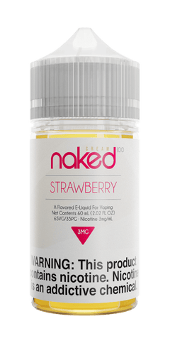 Naked Cream - Strawberry (Naked Unicorn) 60ML