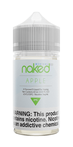 Naked Menthol - Apple (Apple Cooler) 60ML