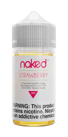 Naked Fusion - Strawberry (Triple Strawberry) 60ML