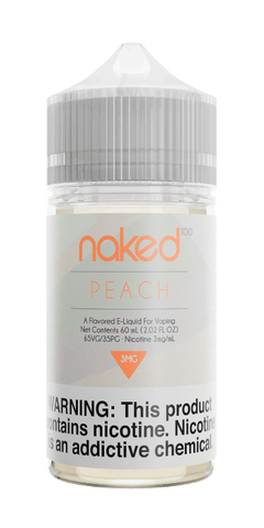 Naked - Peach (Peachy Peach) 60ML