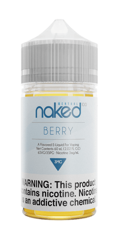 Naked Menthol - Berry (Very Cool) 60ML